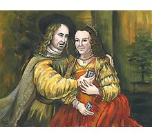 Nicolas Cage, Rembrandt Painting, Mix Tape Photographic Print
