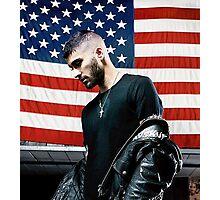 ZAYN MALIK - BOOK US Flag Photographic Print