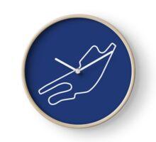 Bugatti Circuit [outline] Clock
