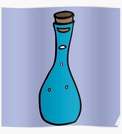bottle  bouteille eau de vie Poster