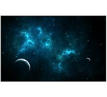 Galaxies Photographic Print