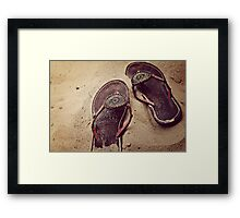 the east african coast Framed Print