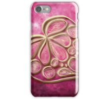 Pink Quill Heart iPhone Case/Skin