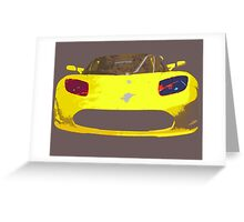 Tesla Pop Art Greeting Card