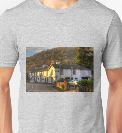 Winter Sun on the Sun Inn Unisex T-Shirt