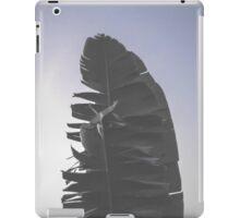 lonely banana leaf  iPad Case/Skin