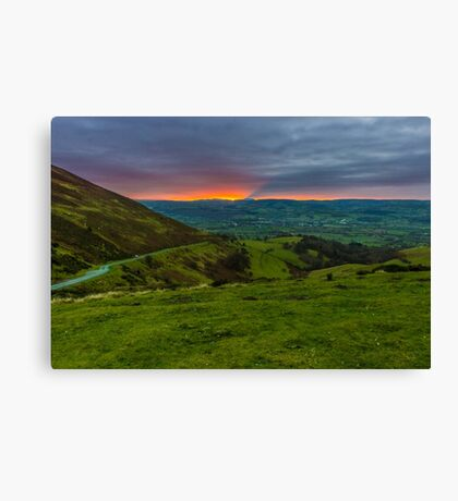 Last rays of the day Canvas Print