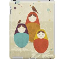Matriochka iPad Case/Skin