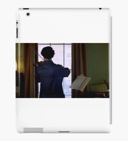 Sherlock and His Violin iPad Case/Skin