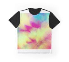 Soft Abstract Autumn Leaves  Graphic T-Shirt