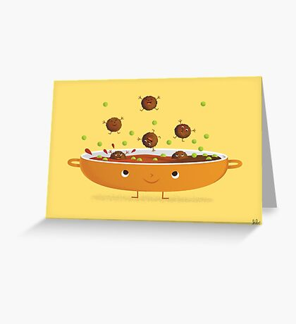 MEATBALLS! Greeting Card