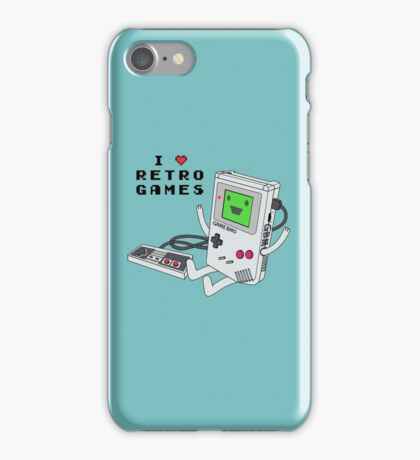 GBMO, The Retrogames Lover iPhone Case/Skin