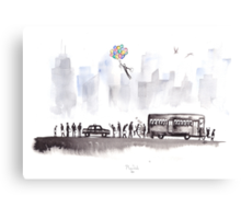 Morning Commute Canvas Print