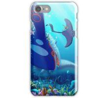 Poke Marine Biology iPhone Case/Skin