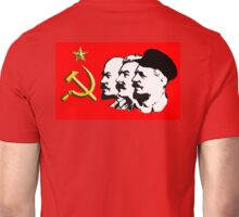CORBYN, Red Flag, Comrade Corbyn, Leader, Politics, Labour Party, Black on White Unisex T-Shirt