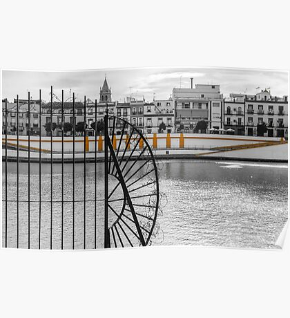 Streets of Seville - Calle Betis Poster
