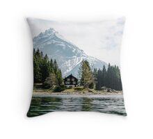 Swizz Cabin Throw Pillow
