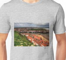 Whitby from the East Cliff Unisex T-Shirt