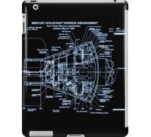 Mercury Capsule Technical Drawing iPad Case/Skin