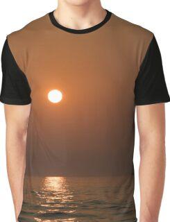 Sunset At Sea Graphic T-Shirt