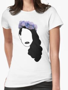 Lana Del Rey - Simplistic - Lips Womens Fitted T-Shirt