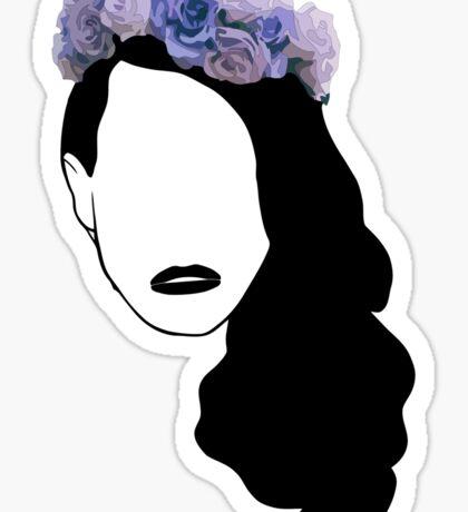 Lana Del Rey - Simplistic - Lips Sticker