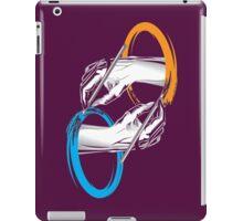 Drawing Portals Paint iPad Case/Skin
