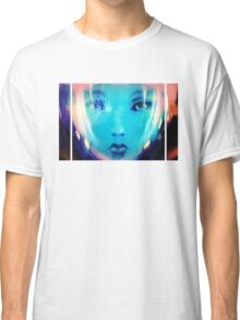 Space Girl Launch Time Classic T-Shirt