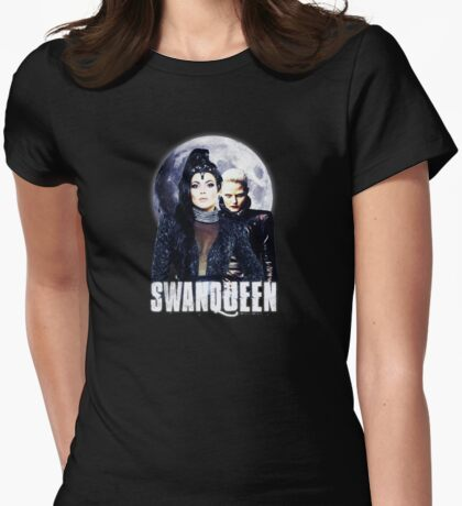 Once Upon A Time: #SWANQUEEN - Moons Lust Womens Fitted T-Shirt