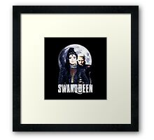Once Upon A Time: #SWANQUEEN - Moons Lust Framed Print