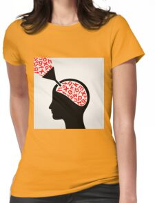 Science head5 Womens Fitted T-Shirt