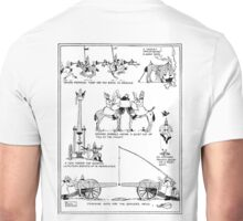 Heath Robinson, Cracking Nuts, World War I, Cartoon, W. Heath Robinson Unisex T-Shirt