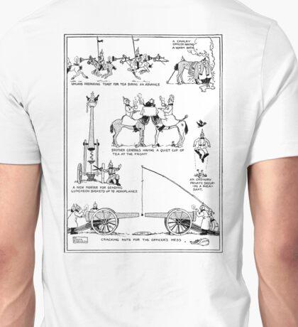 Heath Robinson, Cracking Nuts, World War I, Cartoon, W. Heath Robinson Unisex T-Shirt