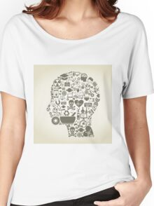 Science head7 Women's Relaxed Fit T-Shirt
