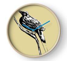 Long tailed blue bird 4 Clock