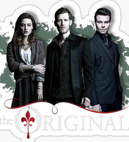 The Originals - Klaus, Hayley and Elijah  Sticker