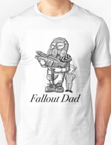 Fallout Dad (White) Unisex T-Shirt