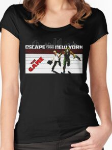 escape - the game Women's Fitted Scoop T-Shirt