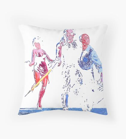 maggie , snake , president Throw Pillow