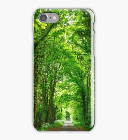 Tunnel of Trees iPhone Case/Skin