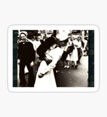 WWII Times Square Kiss Sticker