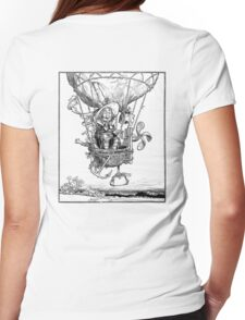 Heath Robinson,  illustration, The Adventures of Uncle Lubin, 1902, W. Heath Robinson Womens Fitted T-Shirt