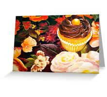 Cupcakes and Butterflies Greeting Card