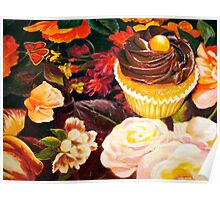 Cupcakes and Butterflies Poster