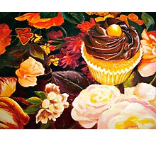 Cupcakes and Butterflies Photographic Print