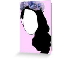 Lana Del Rey - Simplistic Greeting Card