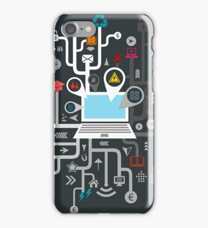 Science the computer iPhone Case/Skin