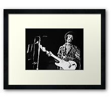 jimmy hendrix special edition Framed Print