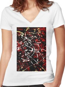 The Best of Both Worlds Women's Fitted V-Neck T-Shirt