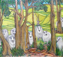 The Curious Case of the Curious Sheep of Glen Fern Farm by Kargin